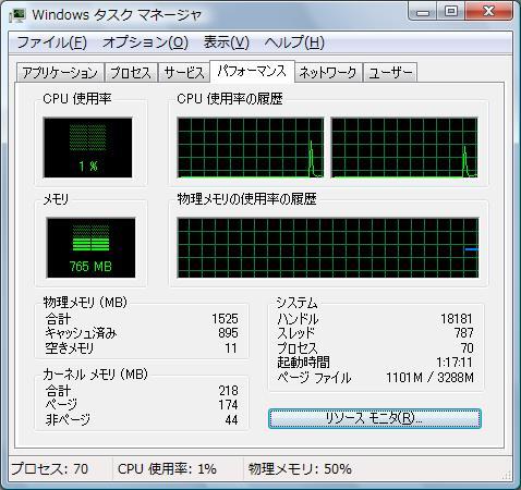 Windows タスク マネージャ